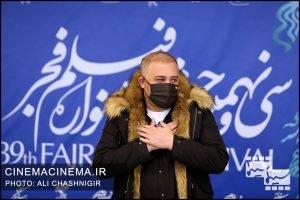 فوتوکال فیلم منصور در سی و نهمین جشنواره فیلم فجر