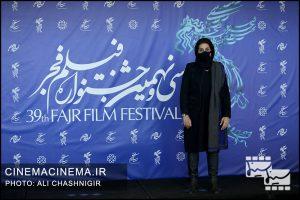 فاطمه معتمدآریا در فوتوکال فیلم روزی روزگاری آبادان در سی و نهمین جشنواره فیلم فجر