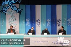 نشست خبری روشن در سی و نهمین جشنواره فیلم فجر