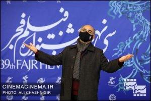 فوتوکال فیلم گیجگاه در سی و نهمین جشنواره فیلم فجر
