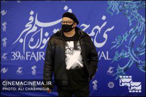 نادر سلیمانی در فوتوکال فیلم گیجگاه در سی و نهمین جشنواره فیلم فجر
