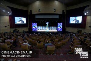 نشست خبری فیلم خط فرضی در سی و نهمین جشنواره فیلم فجر