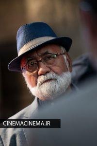 غلامرضا موسوی در اکران قصیده گاو سفید در هفتاد و یکمین جشنواره فیلم برلین