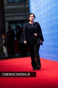 مریم مقدم در اکران قصیده گاو سفید در هفتاد و یکمین جشنواره فیلم برلین