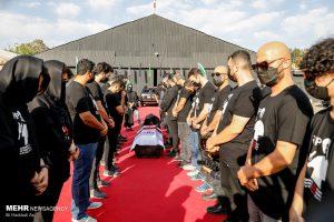 مراسم خاکسپاری ارشا اقدسی