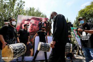 مراسم تشییع زنده یاد علی سلیمانی