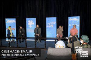 نشست خبری عوامل فیلم سینمایی «پسران دریا» در سی و چهارمین جشنواره بینالمللی فیلمهای کودکان و نوجوانان
