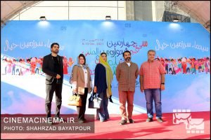 استقبال از عوامل فیلم سینمایی «پسران دریا» در سی و چهارمین جشنواره بینالمللی فیلمهای کودکان و نوجوانان