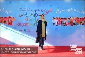 مونا فرجاد در سی و چهارمین جشنواره بینالمللی فیلمهای کودکان و نوجوانان