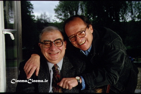 Apr 1994, Cognac, France --- C. CHABROL AND S. LUMET AT DETECTIVE FILM FESTIVAL