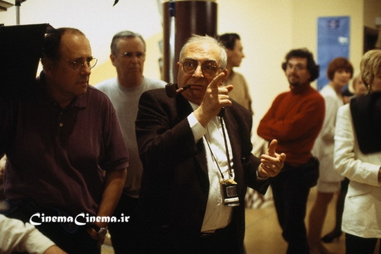 March 1998, St.-Malo, France --- French director Claude Chabrol on the set of his film Au Coeur du Mensonge (The Color of Lies)