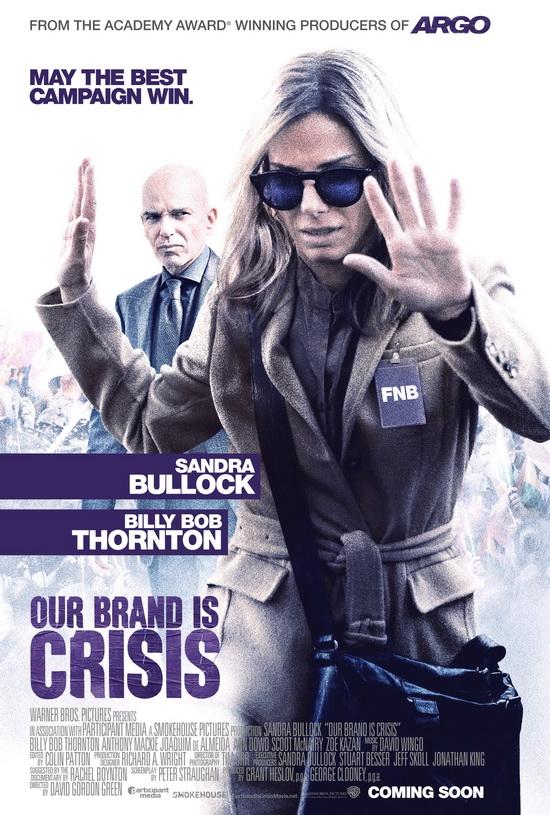 پوستر فیلم مارک ما بحران است با بازی ساندرا بولاک