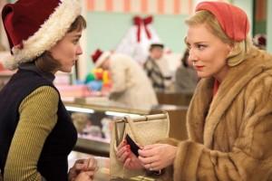 کیت بلانشت و رونی مارا در فیلم کارول
