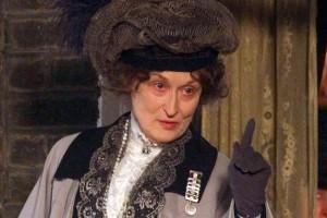 مریل استریپ در مدافع حق رأی برای زنان