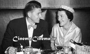 Ronald And Nancy Reagan On Honeymoon