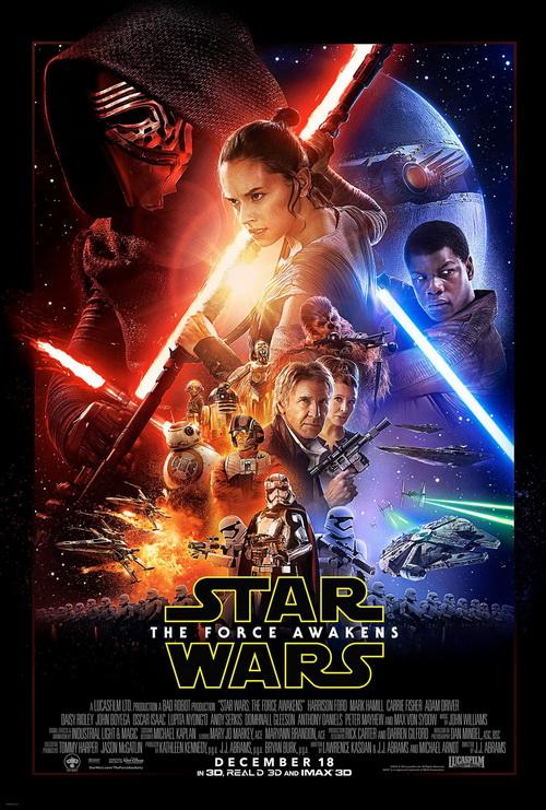پوستر جنگهای ستارهای: نیرو بیدار میشود