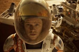 مت دیمن در فیلم مریخی