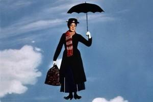 جولی اندروز در فیلم مری پاپینز