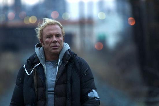 صحنهای از فیلم «کشتیگیر» (دارن آرونوفسکی، 2008)
